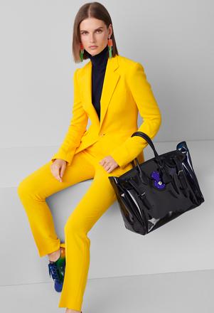 Ralph Lauren Asher 绉纱卡迪夹克,即刻购买