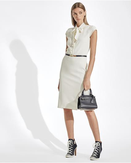 Ralph Lauren Carlisle-绉纱日常连衣裙