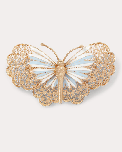 Ralph Lauren 蝴蝶胸针项链