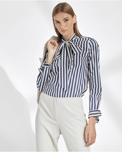 Ralph Lauren Alejandra-条纹衬衫