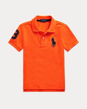 Ralph Lauren 棉质网布Polo衫