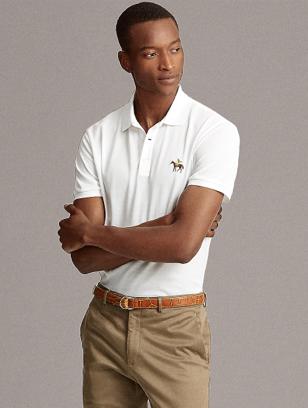 Ralph Lauren 定制修身版型珠地布 Polo 衫