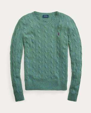 Ralph Lauren 绞花针织毛衫